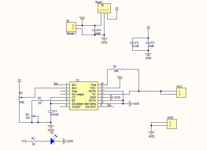 Module SG3525 PWM controller | Linh kiện điện tử 4U