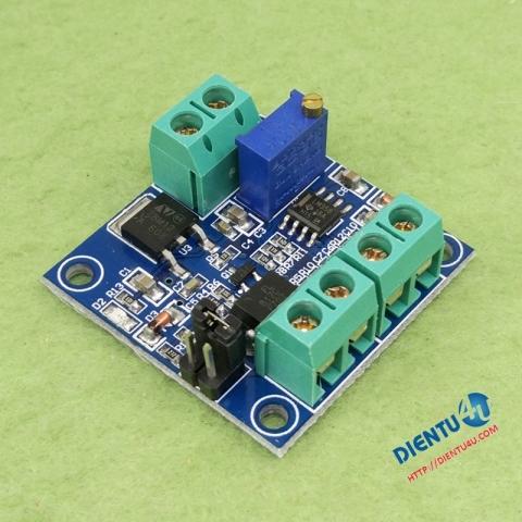 Mạch chuyển đổi tần số PWM tới điện áp 0-10V