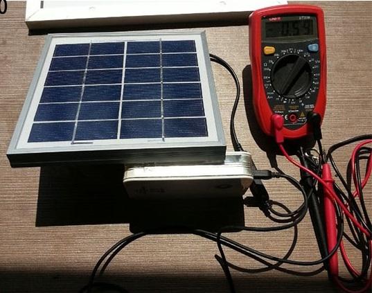 Pin mặt trời 6V 500mA