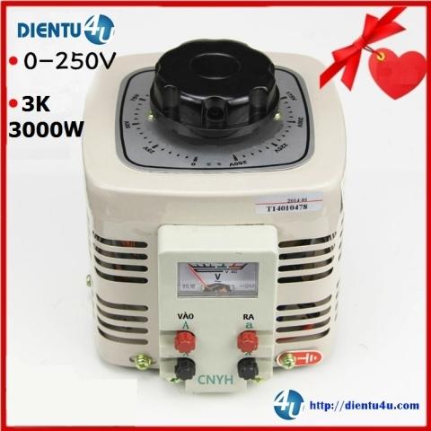 Biến áp điều chỉnh TDGC2-3KVA 0-250V