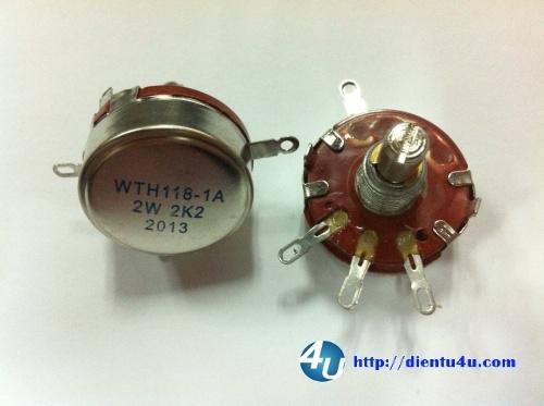 Chiết áp WTH118-2W 10K