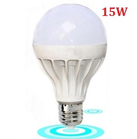 Đèn LED búp tròn 15W E27 sáng trắng