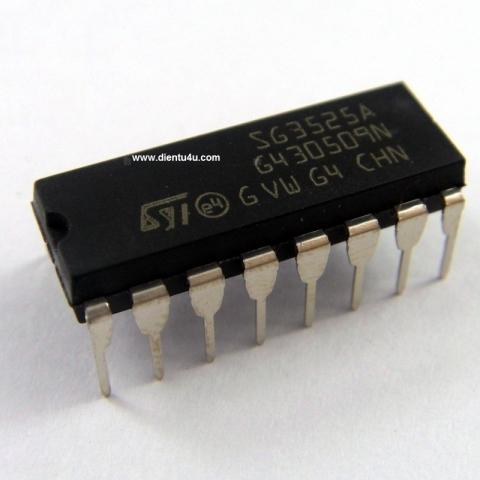 SG3525A DIP16, Chân cắm