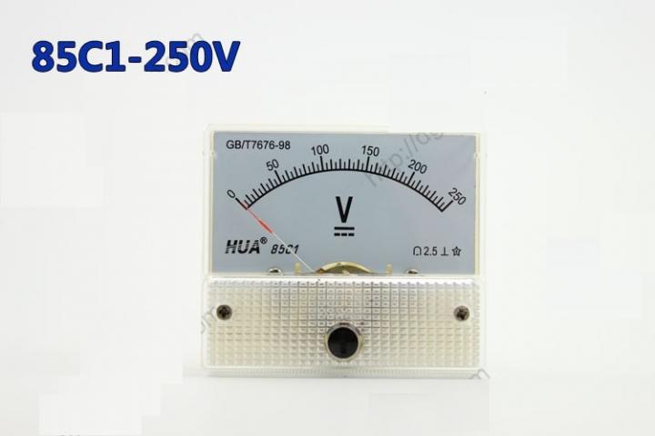 Vôn kế DC 85C1 250V