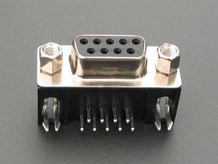 DB9 Femal PCB 90 - DR9 cái