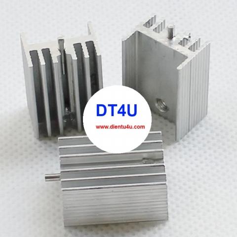 Tản nhiệt nhôm 21x15x10mm - TO220