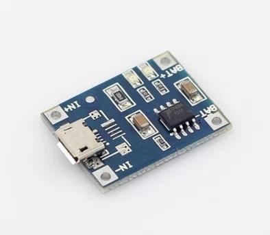 Mạch sạc pin Lithium TP4056 1A MICRO USB