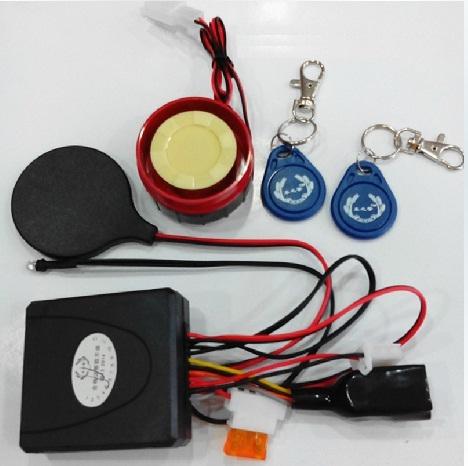 Báo động chống trộm xe máy dùng thẻ RFID