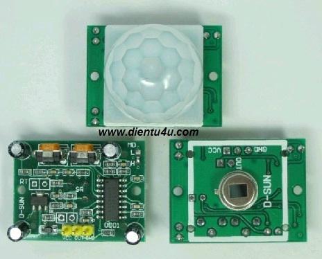 Module cảm biến PIR- HC-SR501