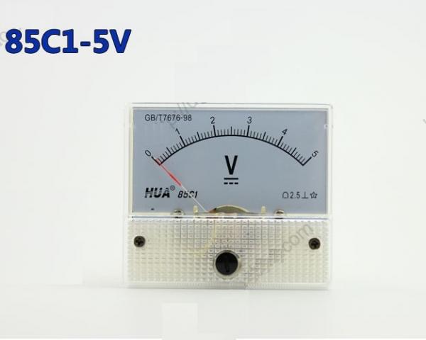 Vôn kế DC 85C1 5V