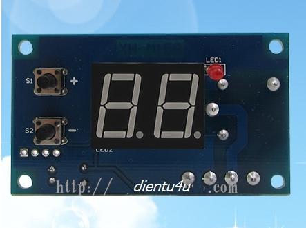 Mạch đếm thời gian ON-OFF 0-99 giây XH-M158