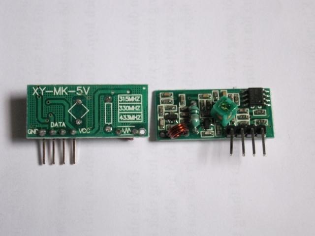 Module thu 433MHz RF-MK-5V