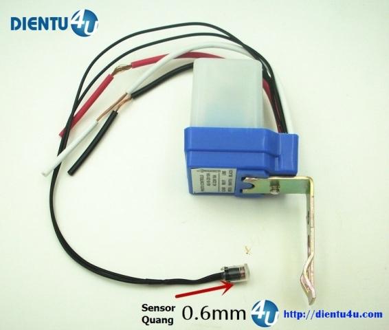 Cảm biến ánh sáng AS10 10A 220V Sensor ngoài