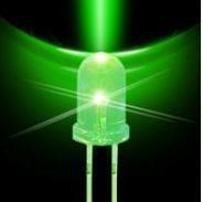 LED xanh lá đục 5mm