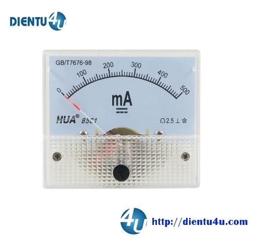Ampe kế DC 85C1 500mA