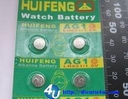 Pin cúc AG1 LR621