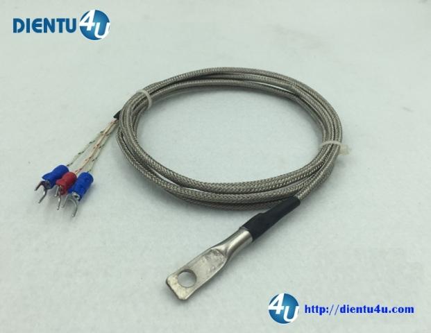 Đầu dò nhiệt SMD loại K- PT100-3 dây