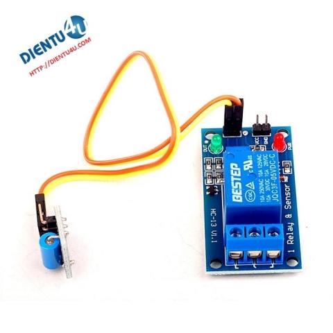 Module cảm biến rung điều khiển Relay