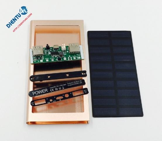 Bộ sạc điện thoại dùng pin mặt trời