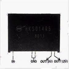 Nguồn step down HKS014R5 5V+12V 1.5A