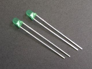 LED 3mm xanh