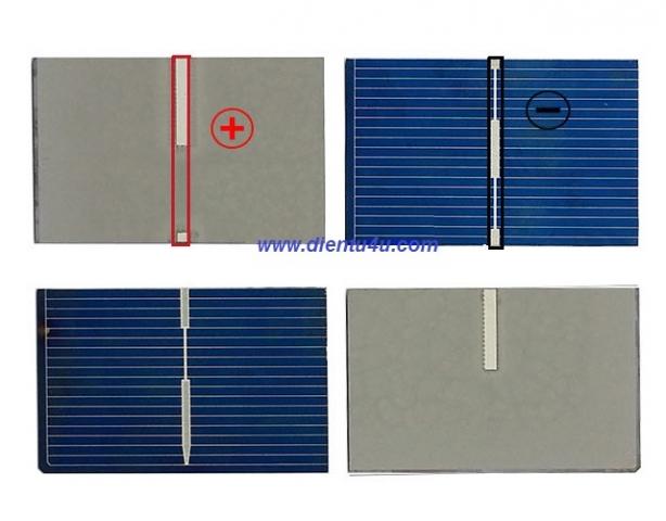 Tế bào pin mặt trời 0.5V 0.27W