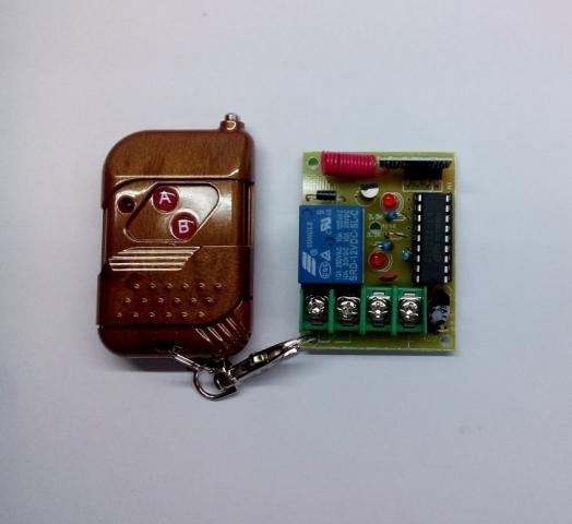 Bộ điều khiển RF 1 thiết bị 12V
