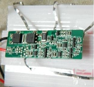 Mạch sạc và bảo vệ 3 Pin Lithium 8A