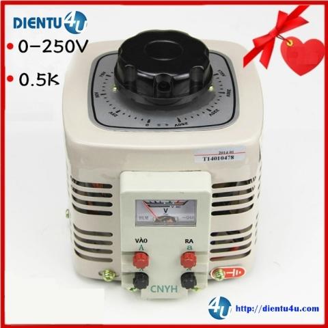 Biến áp điều chỉnh TDGC2-0.5KVA 0-250V