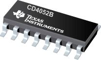 CD4052 SOP16