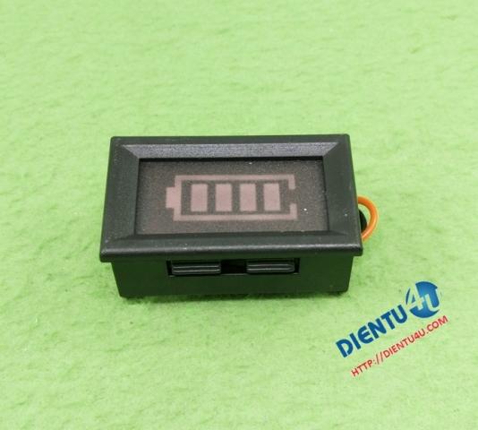 Mạch giám sát nguồn ắc quy hoặc 3 cell pin lithium 12V
