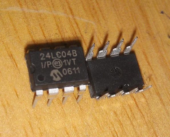 PIC24LC04B-I/P DIP8