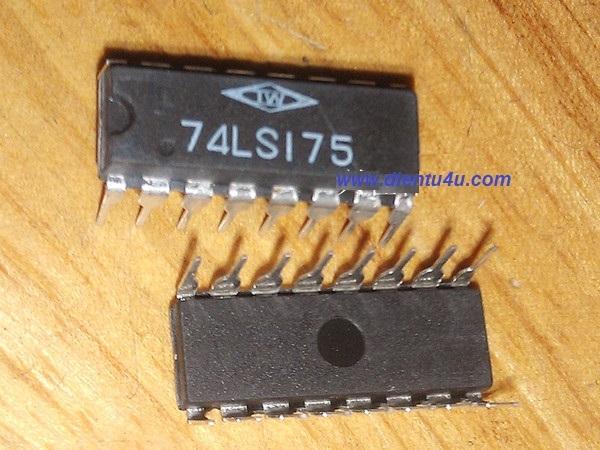 74LS175 DIP-16