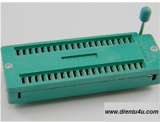 Socket ZIF 40P
