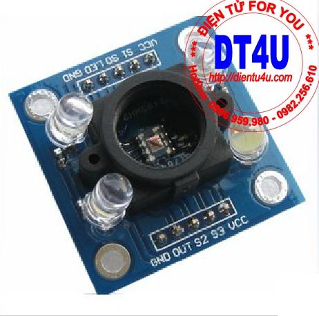 Module cảm biến mầu sắc TCS3200