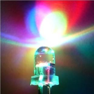 LED 5mm 3 màu tự chuyển màu chậm