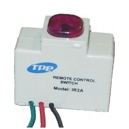 Công tắc hạt điều khiển từ xa IR2A, sử dụng remote Tivi