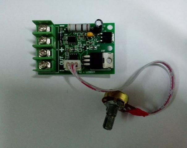 Mạch Dimmer LED 12V/24V 20A