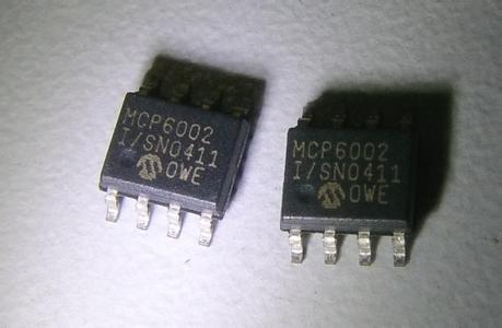 MCP6002-I/SN SOP8