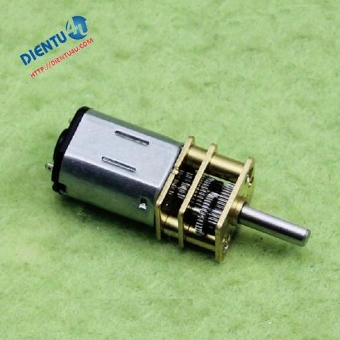 Động cơ giảm tốc GA12-N20 3V 6V 12V DC