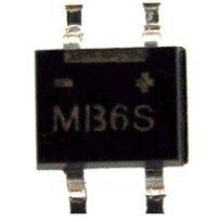 Đi ốt cầu MB6S 800mA/600V