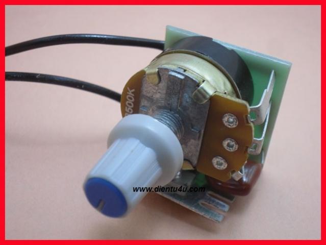 Mạch dimmer 220V 500W BT136