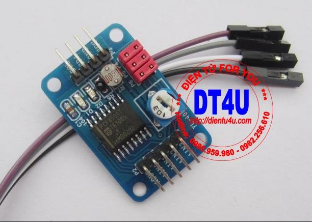 Module AD/DA 8 bít PCF8591