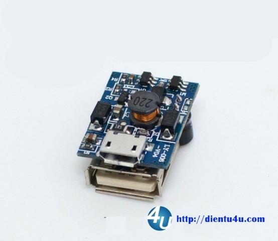 Mạch sạc pin dự phòng-Power bank DT02