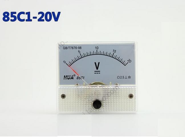 Vôn kế DC 85C1 20V