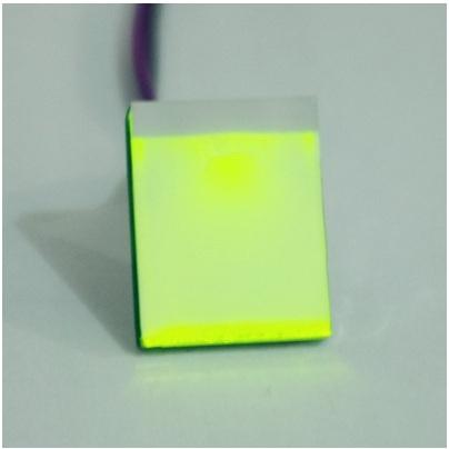 Nút bấm chạm điện dung 2.7V-6V vàng