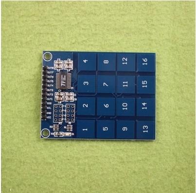Module cảm ứng điện dung TTP229 4x4 kênh