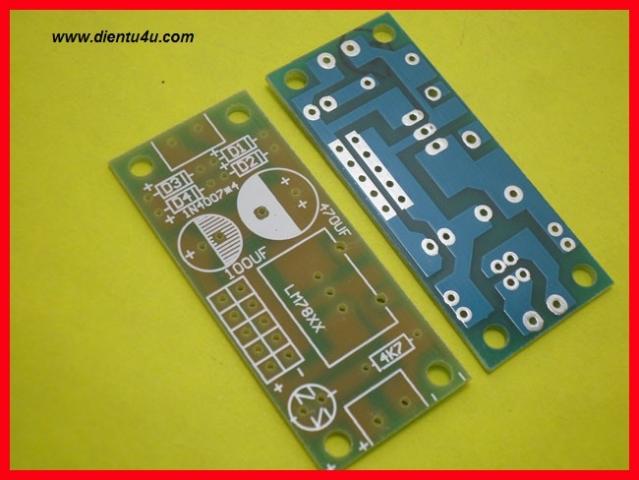PCB module nguồn 78xx L7805 L7812 L7824