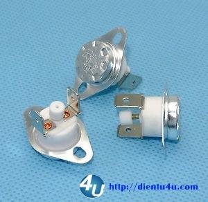 Rơ le nhiệt KSD302 150°C 250VAC 16A