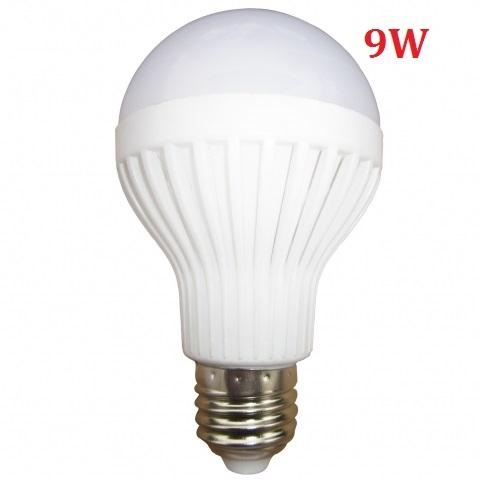 Đèn LED búp tròn 9W E27 sáng ấm